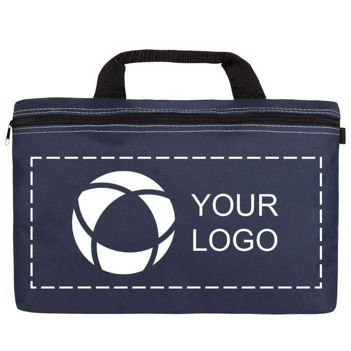 Conference Bag with Single-Colour Print