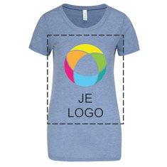 Bella + Canvas® triblend dames-T-shirt met korte mouwen