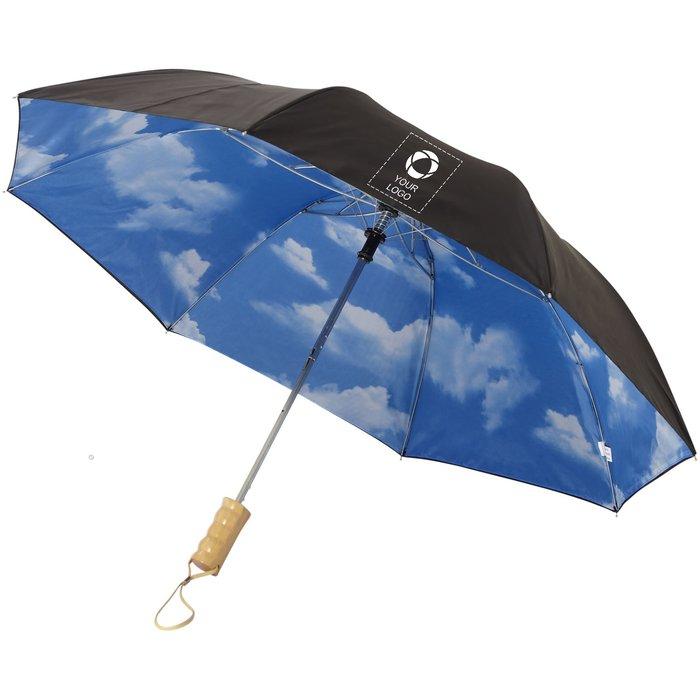 Avenue™ Blue skies 2-section automatic umbrella