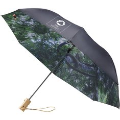 Avenue™ Forest Skies paraply med automatisk uppfällning