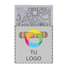 Kit de dibujo Paint & Relax con estampado a todo color