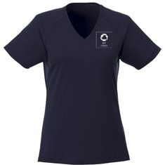 Elevate™ Amery kortærmet cool fit T-shirt med V-halsudskæring til damer