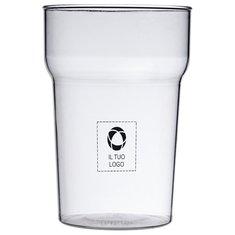 Bicchiere in plastica Nonic Premium Bullet™ da 568 ml