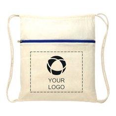 Bullet™ Oregon Zippered Drawstring Backpack