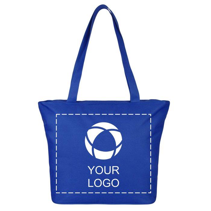 Beach Single Colour Print Tote Bag