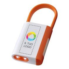 Torcia con moschettone Libra Bullet™ con stampa a colori