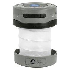 Linterna-farol tipo acordeón con bocinas Bluetooth