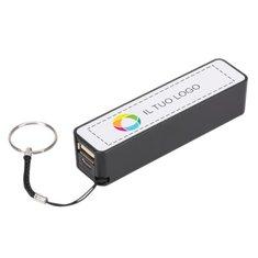 Caricabatterie portatile da 2000 mAh con stampa a colori Jive Bullet™