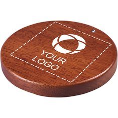 Avenue™ Bora houten draadloze oplader