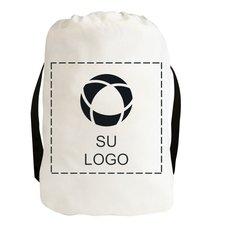 Mochila de lienzo de algodón con cierre de cordón (Exclusiva de Promotique™)