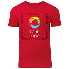 Herren-T-Shirt Organic mit V-Ausschnitt von B&C™