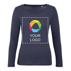 B&C™ Inspire langærmet T-shirt til kvinder