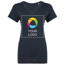 Maglietta da donna con scollo a V Triblend B&C™.