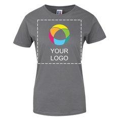 Damen-T-Shirt Slim von Russell™