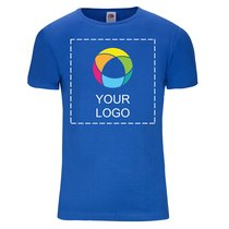 Fruit of the Loom® Fitted Valueweight T-shirt voor Heren