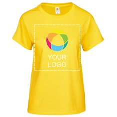 Camiseta Valueweight de Fruit of the Loom® para mujer