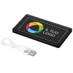 Caricabatterie portatile Austin Bullet™ da 4000 mAh con stampa a colori