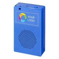 Haftender Bluetooth®-Lautsprecherständer von Bullet™ mit Vollfarbdruck