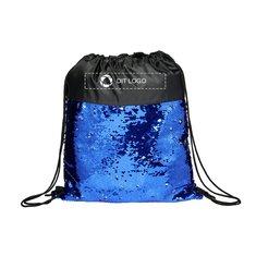 Bullet™ Mermaid rygsæk med løbesnor og pailletter