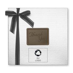 """Caja de obsequio grande """"Thank You"""" de delicias de chocolate, 56 unidades - Paquete de 12 cajas"""