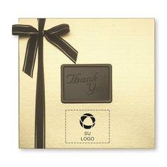 """Caja de obsequio mediana """"Thank You"""" de delicias de chocolate, 32 unidades - Paquete de 12 cajas"""