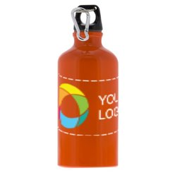 17 oz. Personalized Aluminum Sports Bottle with Full-Color Wraparound