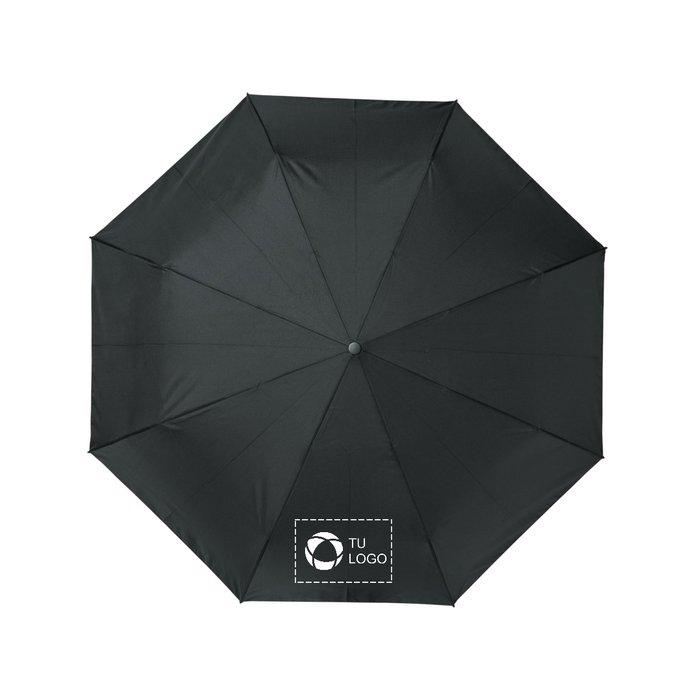 Paraguas plegable con apertura y cierre automático fabricado en PET reciclado de 53 cm Bo de Avenue™