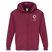 Klassisk Fruit of the Loom® sweatshirt med enkeltfarvetryk