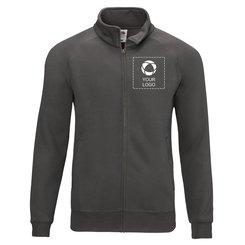 Fruit of the Loom® Premium Sweat Jacket Single Colour Print