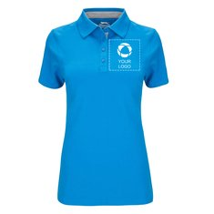 Slazenger™ Hacker Women's Short Sleeve Polo Single Colour Print