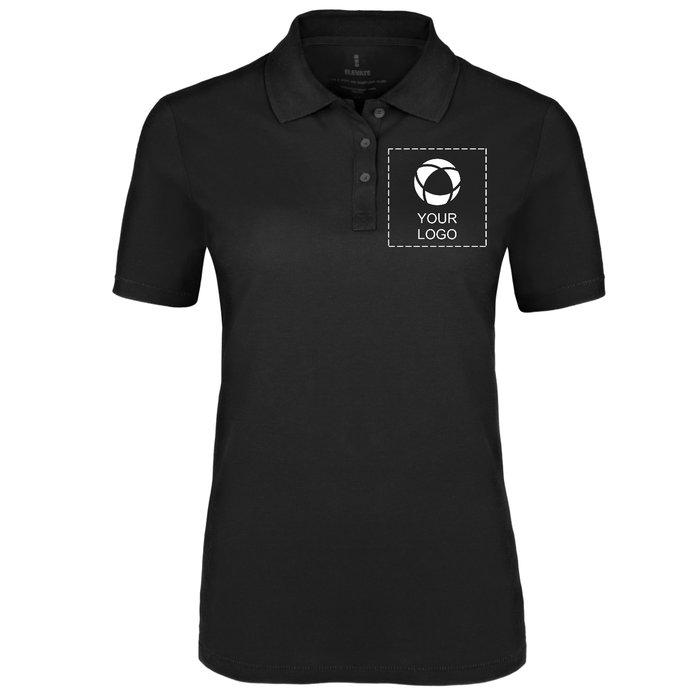 Elevate™ Seller Women's Single Colour Print Polo Shirt