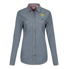 Weatherproof® Vintage Women's Chambray Long Sleeve Shirt
