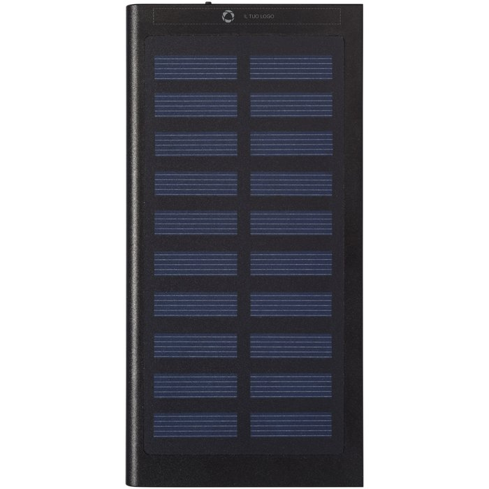 Caricabatterie portatile a energia solare da 8000 mAh con incisione a laser Stellar Avenue™