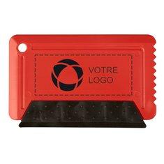 Gratte-givre au format carte de crédit avec bande en caoutchouc Freeze de Bullet™