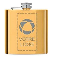 Flasque 175ml Slimmy gravée au laser