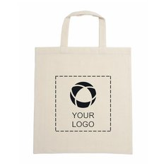 Short Handle Calico Bag