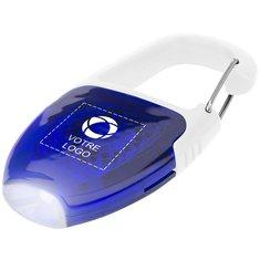 Porte-clés LED mousqueton et réflecteur de Bullet™