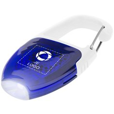 Bullet™ Reflectorlichtje en Sleutelhangerlampje met Karabijnhaak
