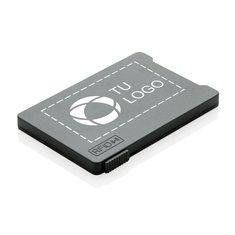 Tarjetero múltiple antiescaneo con bloqueo RFID