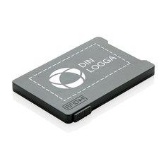 RFID korthållare för flera kort med antiskimningsfunktion