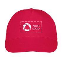 Cappellino con stampa monocolore Memphis US Basic™