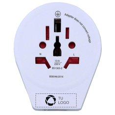 Adaptador para todo tipo de enchufes y USB SKROSS®
