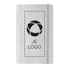 Luxe metallic notitieboek met zachte omslag