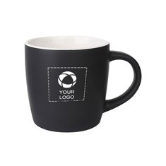 330ml Boston Ceramic Matte Black Mug