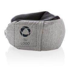 Almohada de viaje Deluxe con microesferas