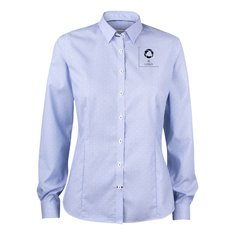 J. Harvest & Frost Purple Bow 140 damesshirt met drukwerk in 1 kleur