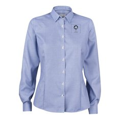 J. Harvest & Frost Purple Bow 48 damesshirt met drukwerk in 1 kleur