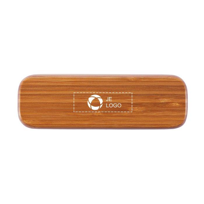 Bamboe pen in doosje