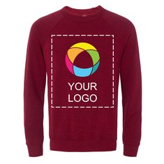 Bella + Canvas® Ink Printed Unisex Sponge Fleece Crewneck Sweatshirt