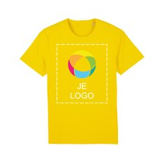 Stanley/Stella Creator iconisch uniseks veganistisch T-shirt met inktbedrukking